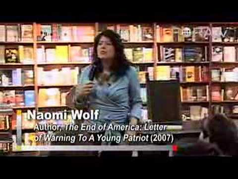 "Naomi Wolf - The Bush Administration's ""Watch List"""