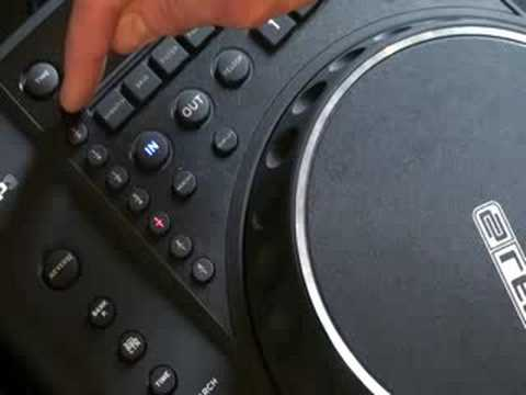 Reloop RMP-2 Video 2.  Timing, Scratch mode or is it vinyl?