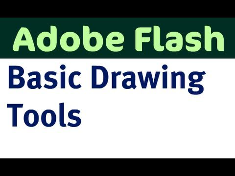 Basic Drawing Tools in Flash