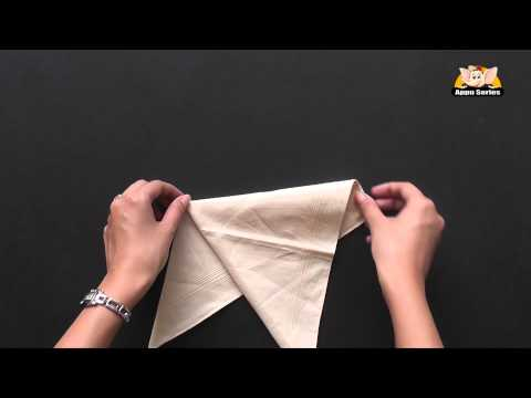 Learn the French Napkin Fold