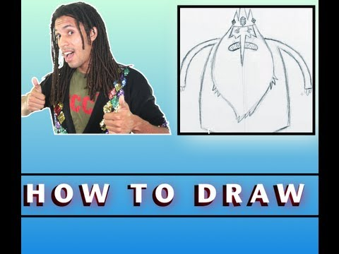 How To Draw The Ice King From Adventure Time