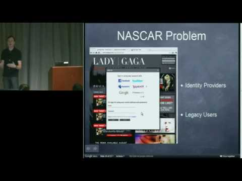 2010 Google Faculty Summit: Defeating the Password Anti-Pattern with Open Standards