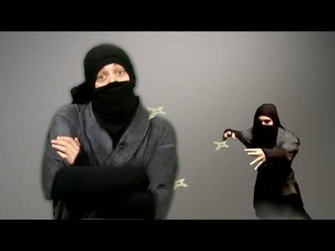 Ninja Swords and Flying Ninja Stars : BFX