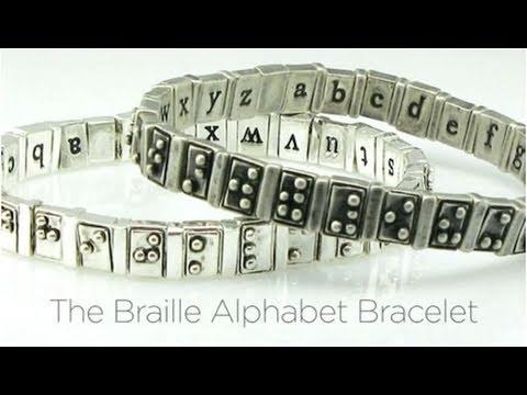 2010 People's Design Award: Braille Alphabet Bracelet