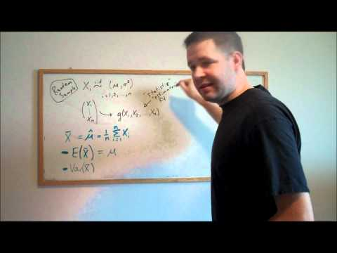 E1.8. Sampling Distribution of the Sample Mean (Econometrics Math)