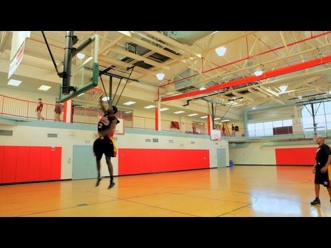 How to Play Basketball: Basketball Tricks / 360 Dunk