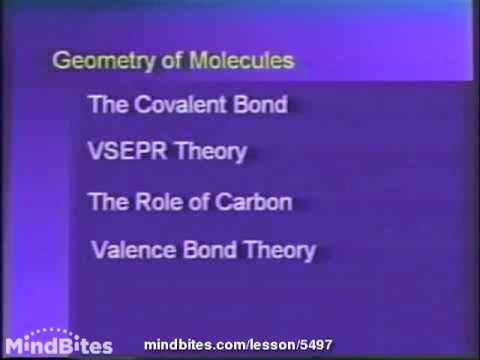 College Chemistry 1: Geometry of Molecules 3