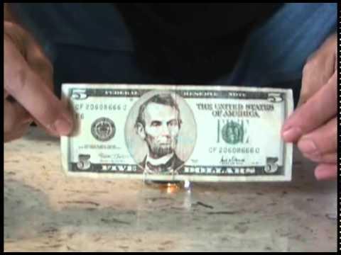 $5 Flammable Bar Trick!