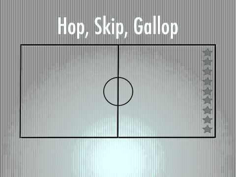 Physical Education Games - Hop, Skip, Gallop