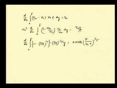 Mod-04 Lec-21 Approximate analysis in boundary layer