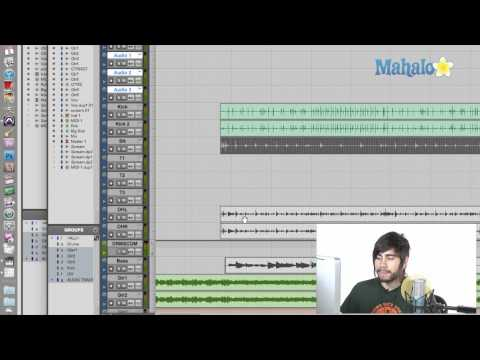 Enabling Groups - Pro Tools 9
