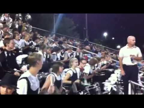 High School Pep Band plays the Hey song