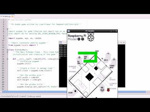 Raspberry Pi Tutorial 14 - Snake Collisions