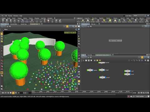cmiVFX Releases New Houdini Flocking Systems Training Video