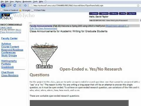 Open-Ended Research Questions: The Secret to Writing Research Papers & Essays