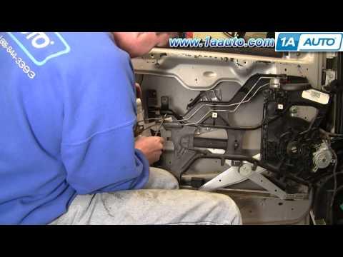 How To Install Replace Power Door Lock Actuator Chevy Venture Pontiac Montana 97-05 1AAuto.com