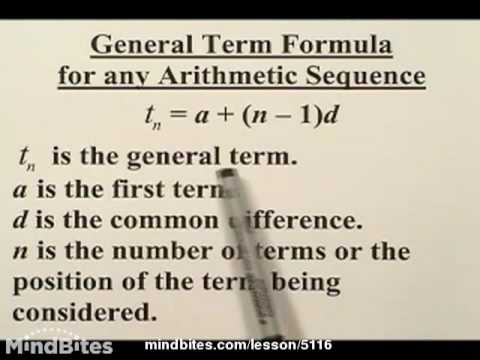Sequences & Series: Arithmetic Series