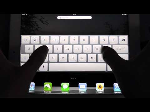 How to Split Your iPad Keyboard