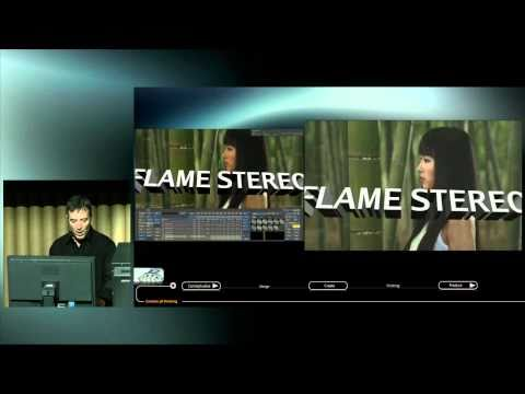 Creative 3D Finishing with Flame 2011 pt. 2 of 2