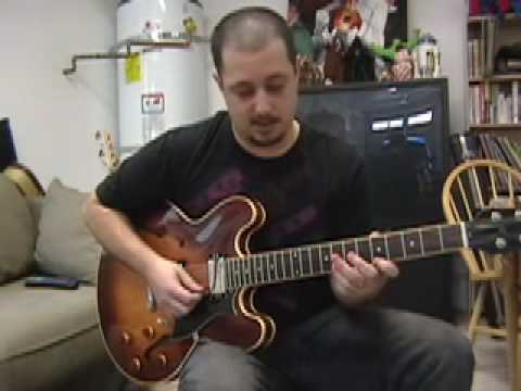 Guitar Scales - Blues Jazz Funk Mixolydian