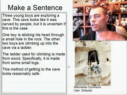 Learn English Make a Sentence and Pronunciation Lesson 117: Exploring the Cave
