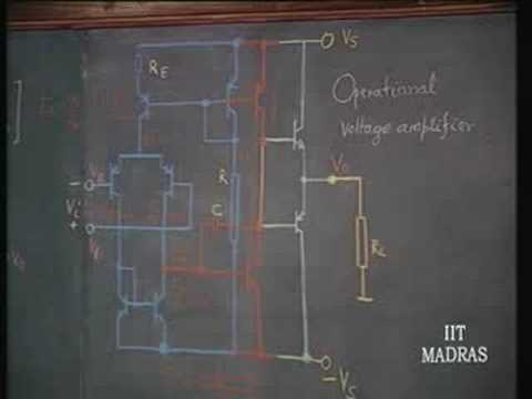 Lecture - 15 IC Operational Voltage Amplifier