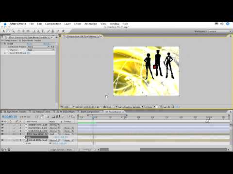 Training for Adobe After Effects CS3 - Ch2 L8 Navigating the Timeline & Adding Markers