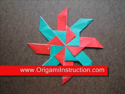 How to Fold Origami Ring of Boat - OrigamiInstruction.com