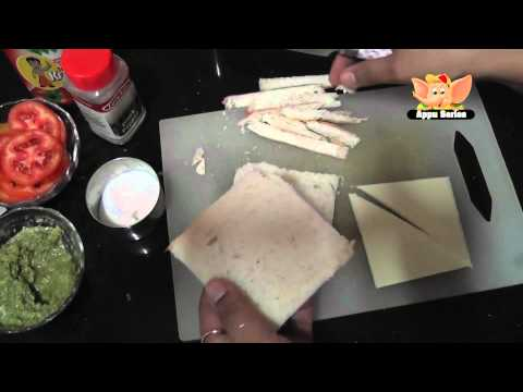 Easy Cooking - Cheese Sandwich