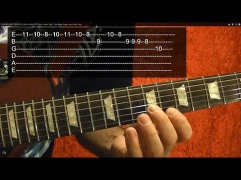 Solo Lesson: SINCE I'VE BEEN LOVING YOU Intro by LED ZEPPELIN