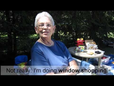 Advanced English 4 -- Part 3 (Vocabulary) -- Yard Sale
