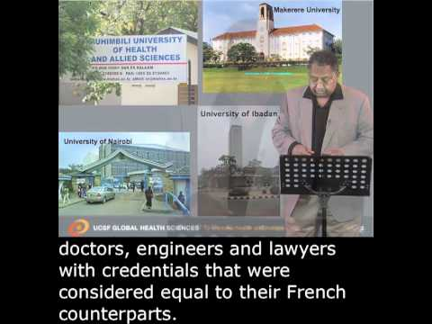 Haile Debas (UCSF): Rebuilding African Universities with English Subtitles
