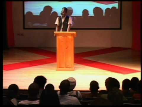 TEDxUWI-Learie Joseph-A Comedian not a Joke