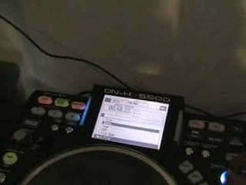 "Denon DN-HS5500, Playing "" Next file"" tutorial 2"