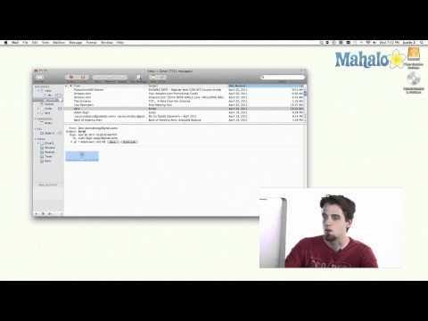 Mail - Attachments - Learn Mac OS Snow Leopard