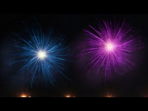 Photoshop: Abstract Fireworks for New Years!