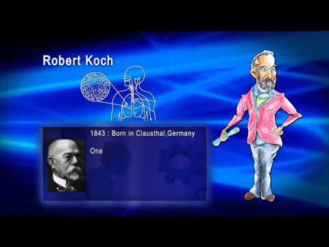 Top 100 Greatest Scientist in History For Kids(Preschool) - ROBERT KOCH