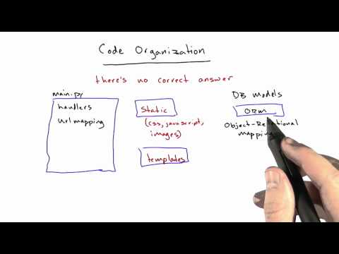 Code Organization - CS253 Unit 7 - Udacity