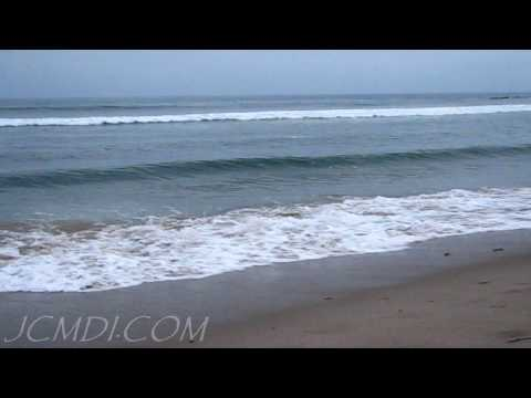 720p HD Pacific Ocean Dusk Relaxation Surf and Sand