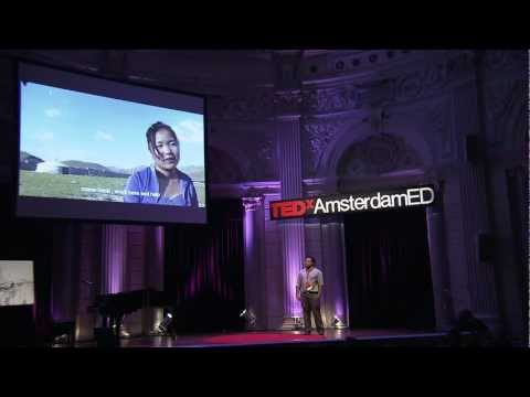 Recycling Technology For Education: Neil D'Souza at TEDxAmsterdamED