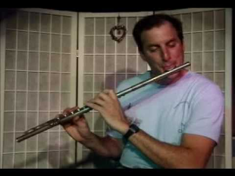 Flute Lesson: How to play a Ab Major Chord with Arpegio