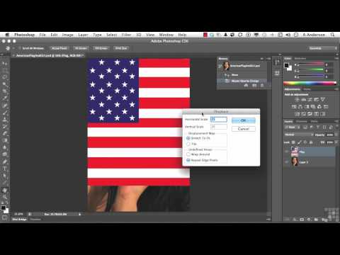 Adobe Photoshop CS6 Tutorial | Working with the Displacement Map | InfiniteSkills