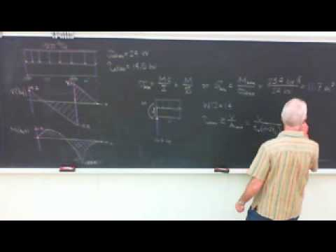 Saylor ME202: Mechanics Prismatic Beam Design