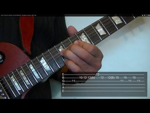 Rock/Blues Soloing ( Guitar Lesson ) WITH TABS!