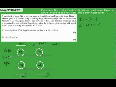 (q1) M1 Mechanics January 2010 Edexcel Past Paper