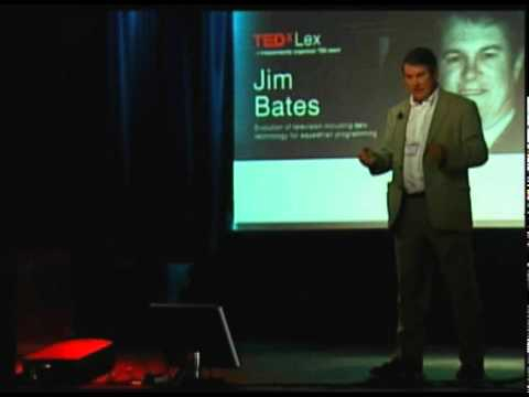 TEDxLex - Jim Bates - Evolution of television including new technology for equestrian programming