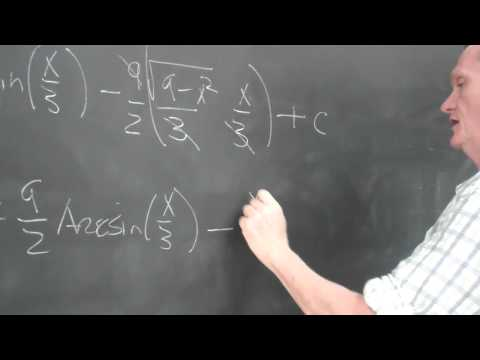 Two complicated integrals
