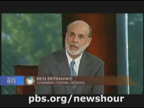 NEWSHOUR | Bernanke, On The Record, Part 2 | PBS