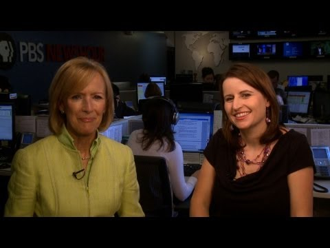 Christina Bellantoni with Judy Woodruff