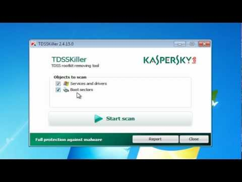 Free Anti Virus Software from Kaspersky